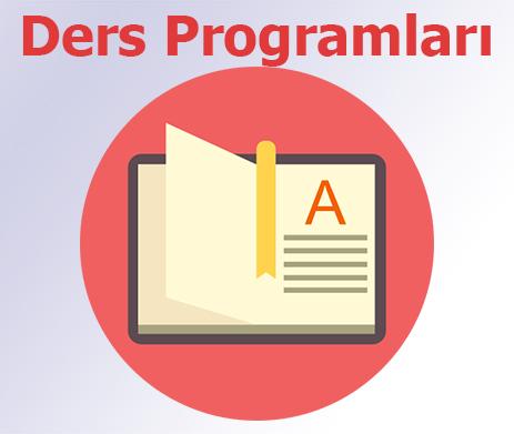 2019-2020 Yaz Okulu Ders Programları